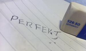 Perfektionisme - stop