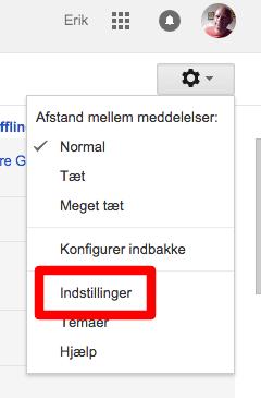 gmail-indstillinger