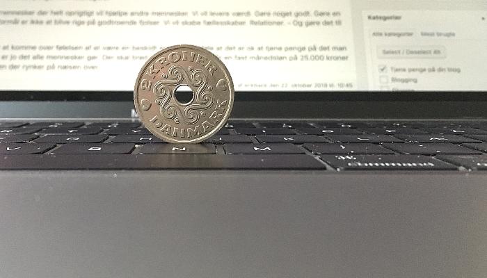Den rette indstilling til at tjene penge på sin blog